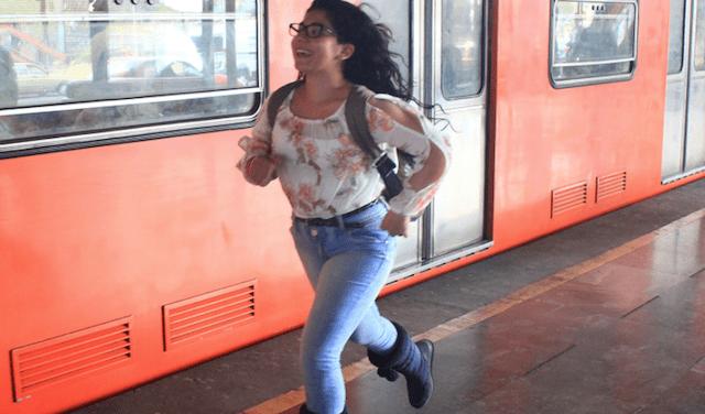 Andenes del Metro de CDMX (Imagen: Twitter @MetroCDMX)