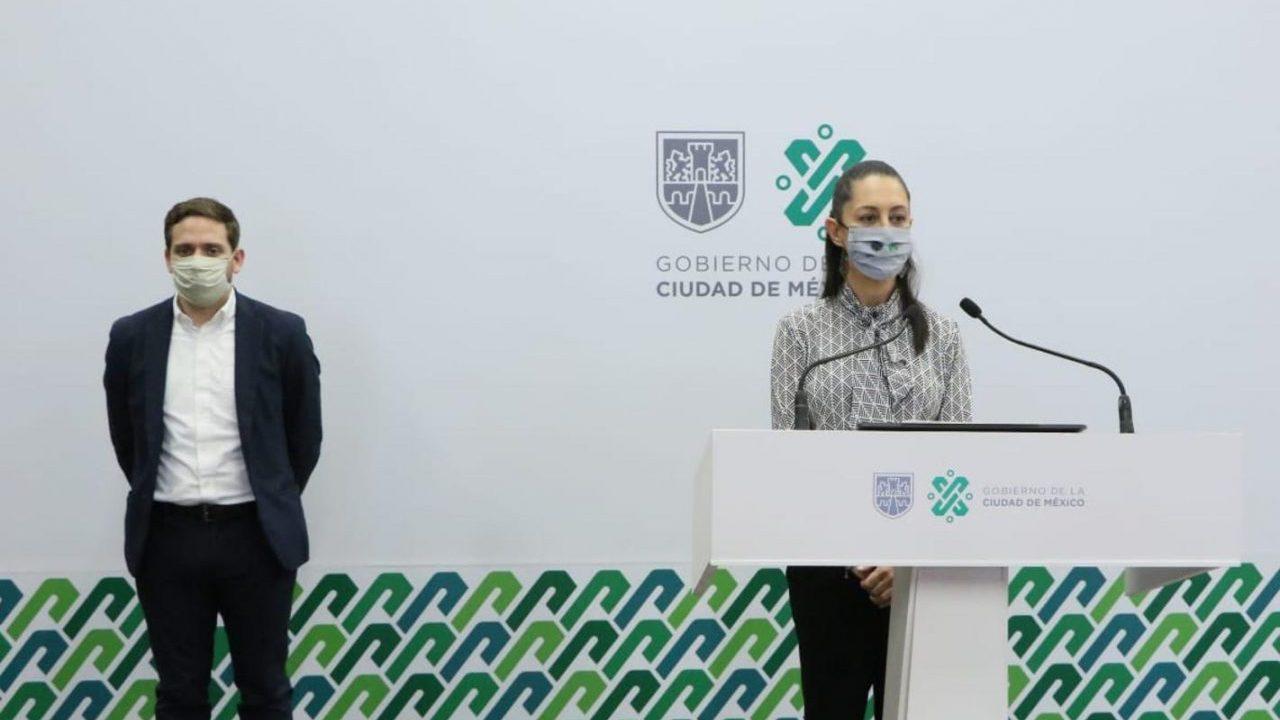 Oficinas públicas y privadas de la CDMX abrirían hasta semáforo verde: Sheinbaum