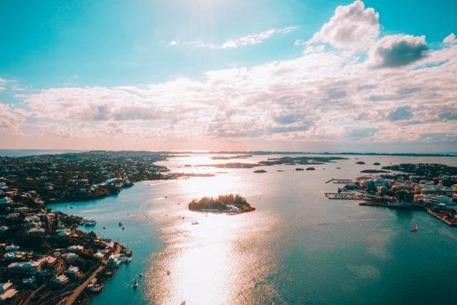 Vista aérea de Bermudas (Imagen: Unsplash)