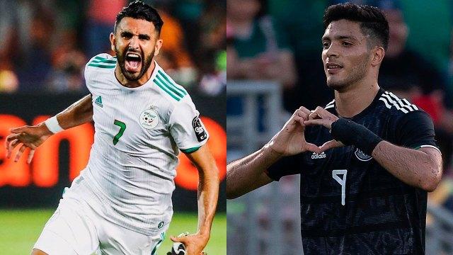 Riyad Mahrez y Raúl Jiménez estarán en el partido de la Selección Mexicana vs Argelia
