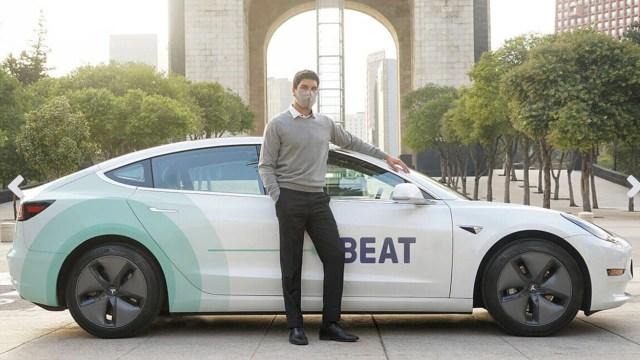 Beat ofrecerá viajes en Tesla en la CDMX