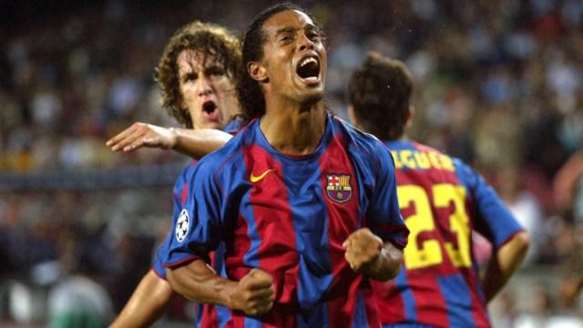 Lesión a Ronaldinho