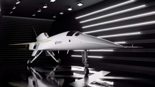 Avión supersónico de pasajeros (Imagen: Boom Supersonic)