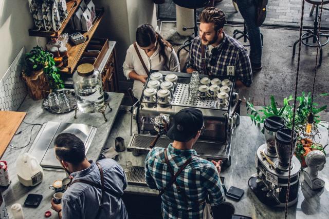cafeteria, pequeños negocios, microempresarios, créditos