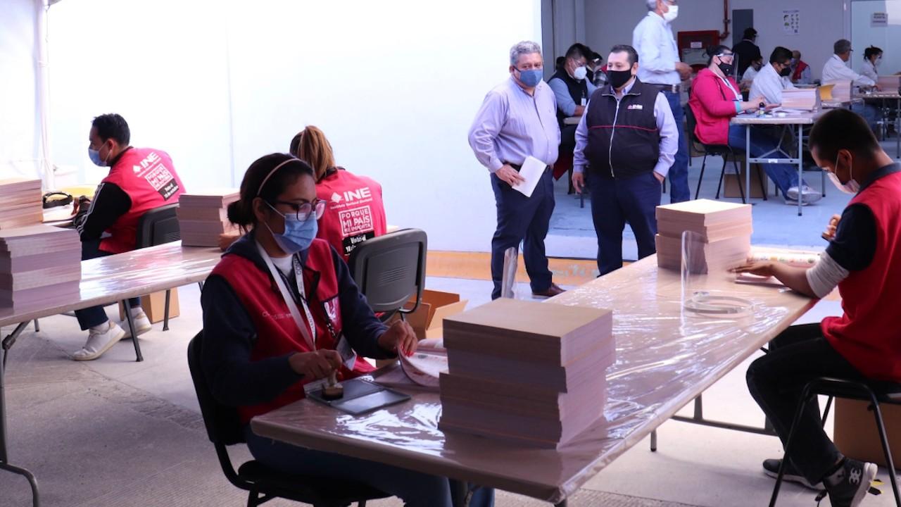 Supervisores del INE, así podrás trabajar (Imagen: Twitter @INECoahuila)
