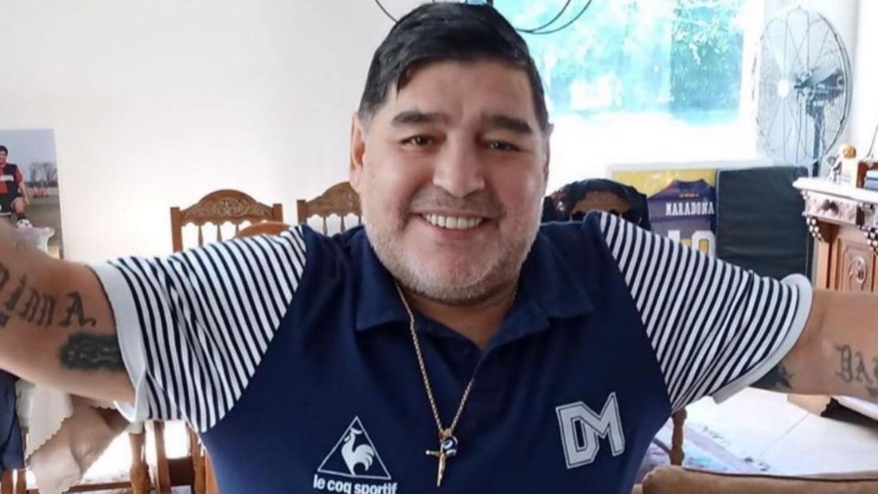 Maradona se mostró a favor del impuesto a la riqueza en Argentina
