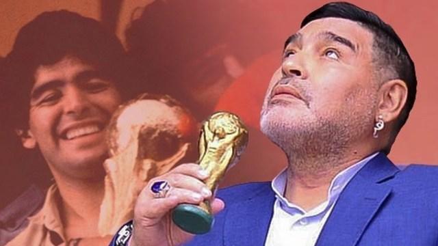 Playera autografiada de Maradona se vende en hasta un millón de pesos