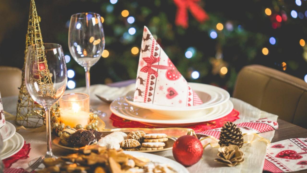 Cena de Navidad (Imagen: pexels)