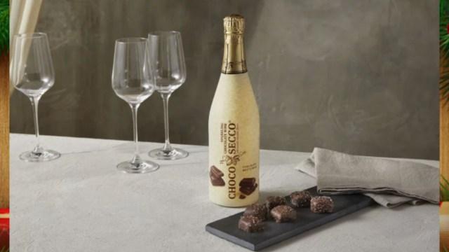Vino espumoso de chocolate (Imagen: Aldi)
