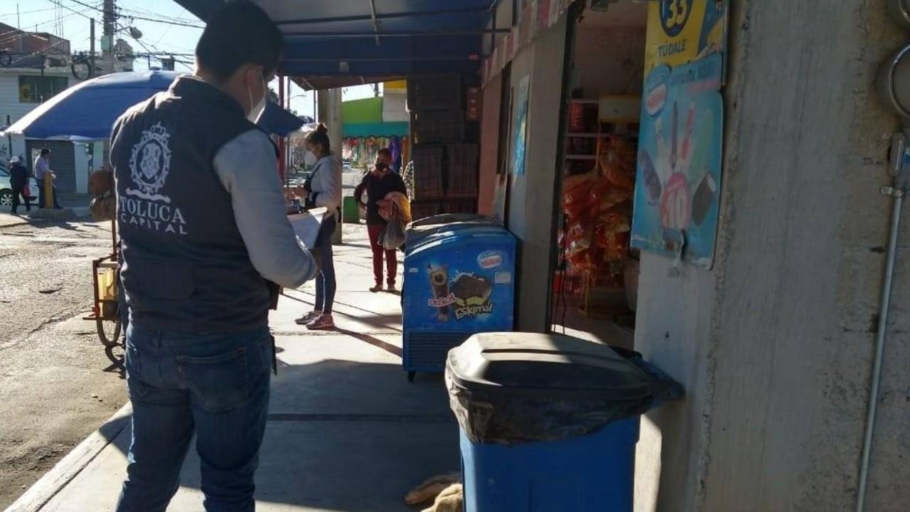 Declaran toque de queda en Toluca