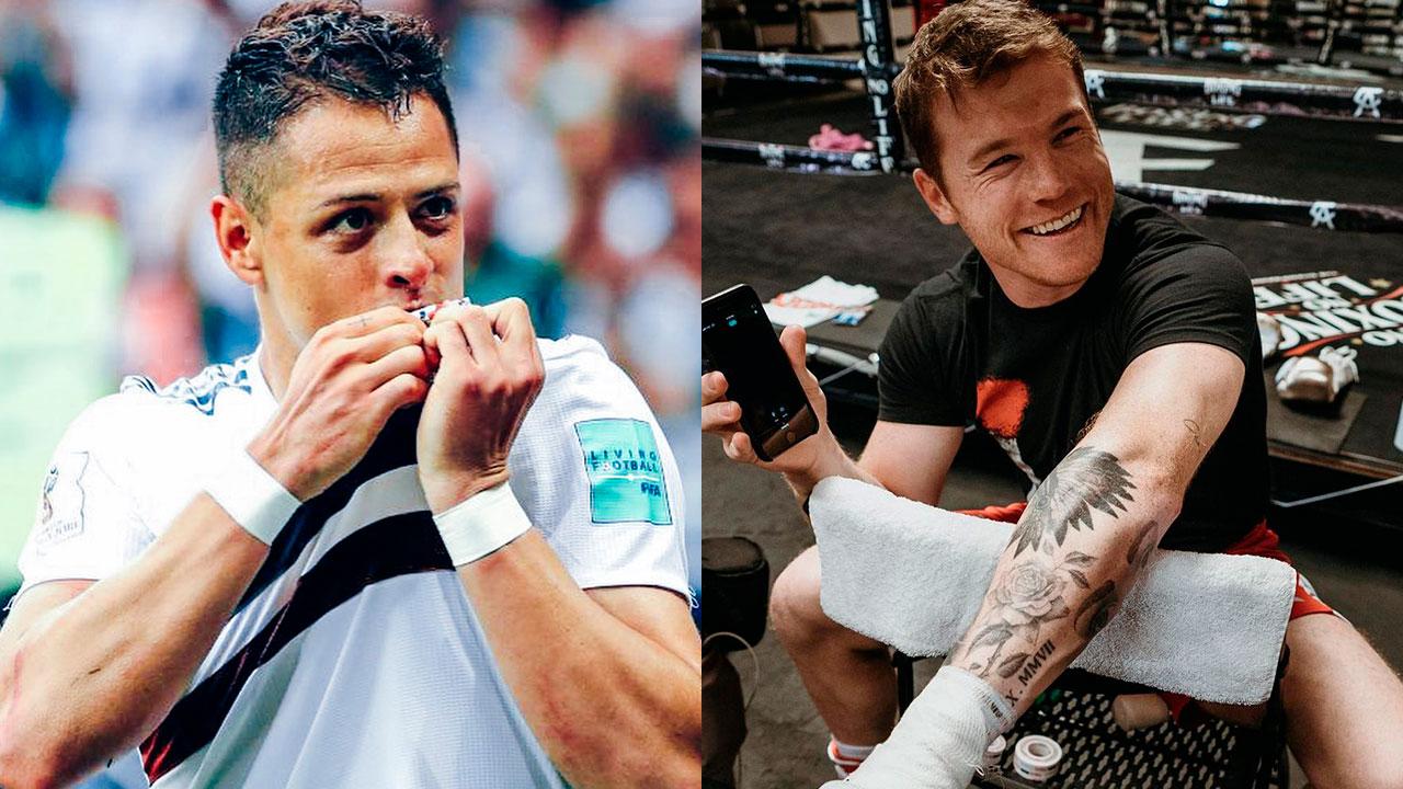 Chicharito y Canelo están entre los deportistas mexicanos mejor pagados del 2020