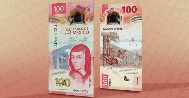 Elementos de Seguridad de Billete de 100 pesos