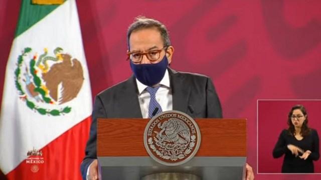 Carlos Salazar, presidente del CCE (Imagen: Gobierno de México)