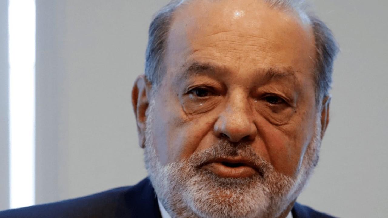 Carlos Slim da positivo a COVID-19 y tiene síntomas leves