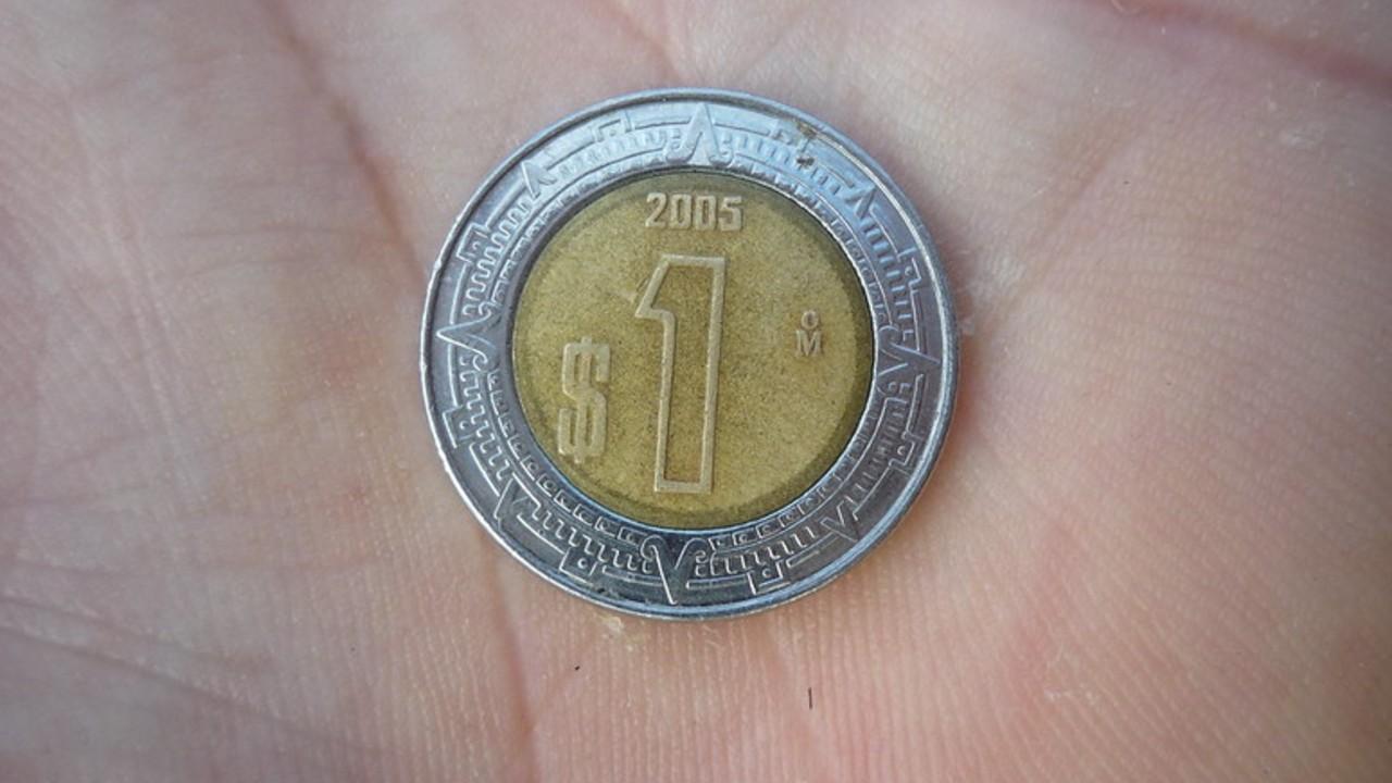 Moneda de 1 peso se vende en casi 7 mil pesos