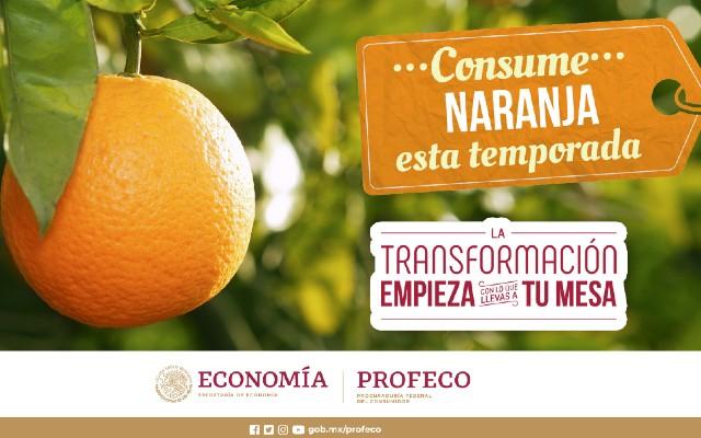 Consume al máximo la naranja en esta época