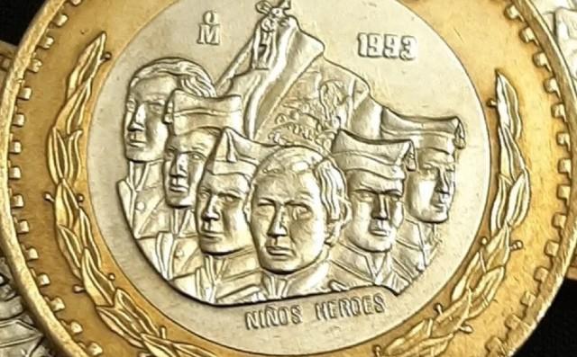 Moneda antigua de 50 pesos