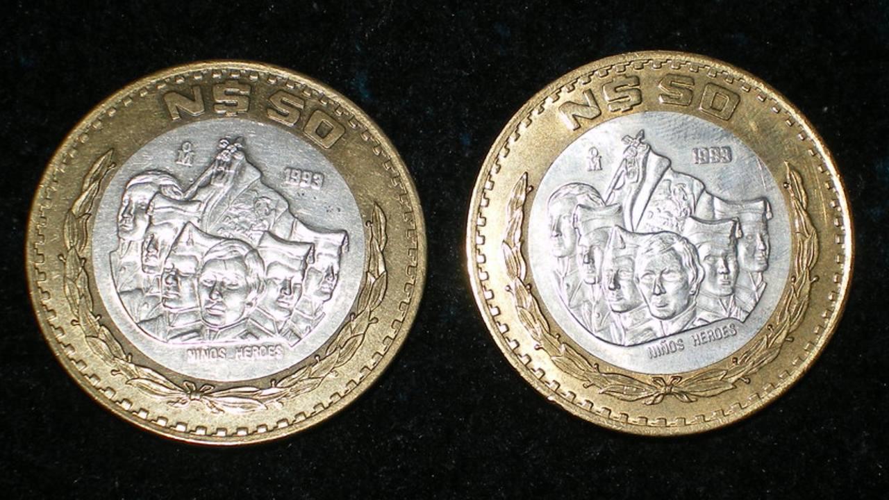 Por esta razón una moneda de 50 pesos se vende en casi 3 mil pesos