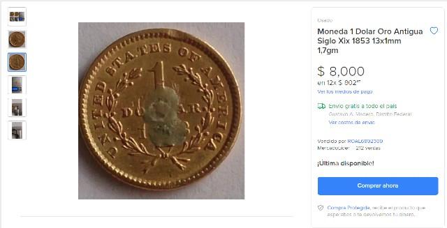 Compra - Venta de monedas antiguas