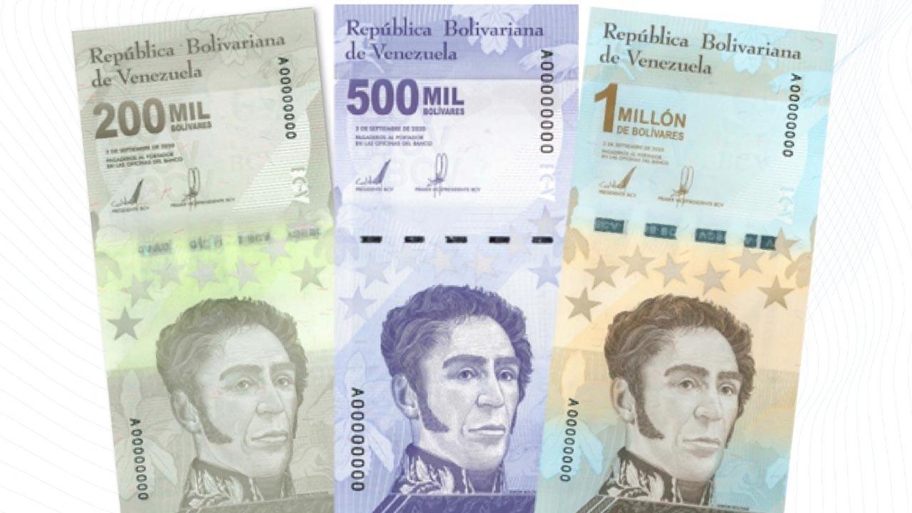 Nuevos bolivares