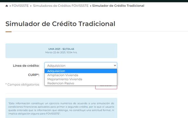 Crédito ConstruYes FOVISSSTE