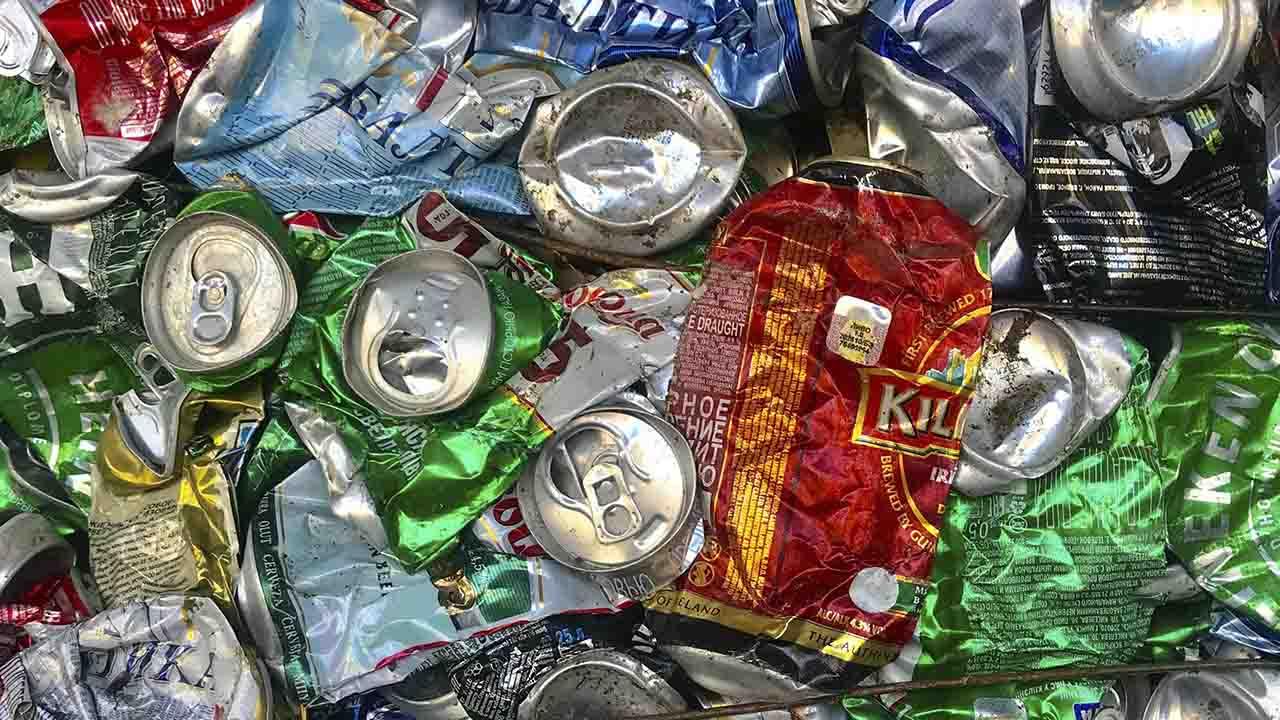 Trueque basura por comida