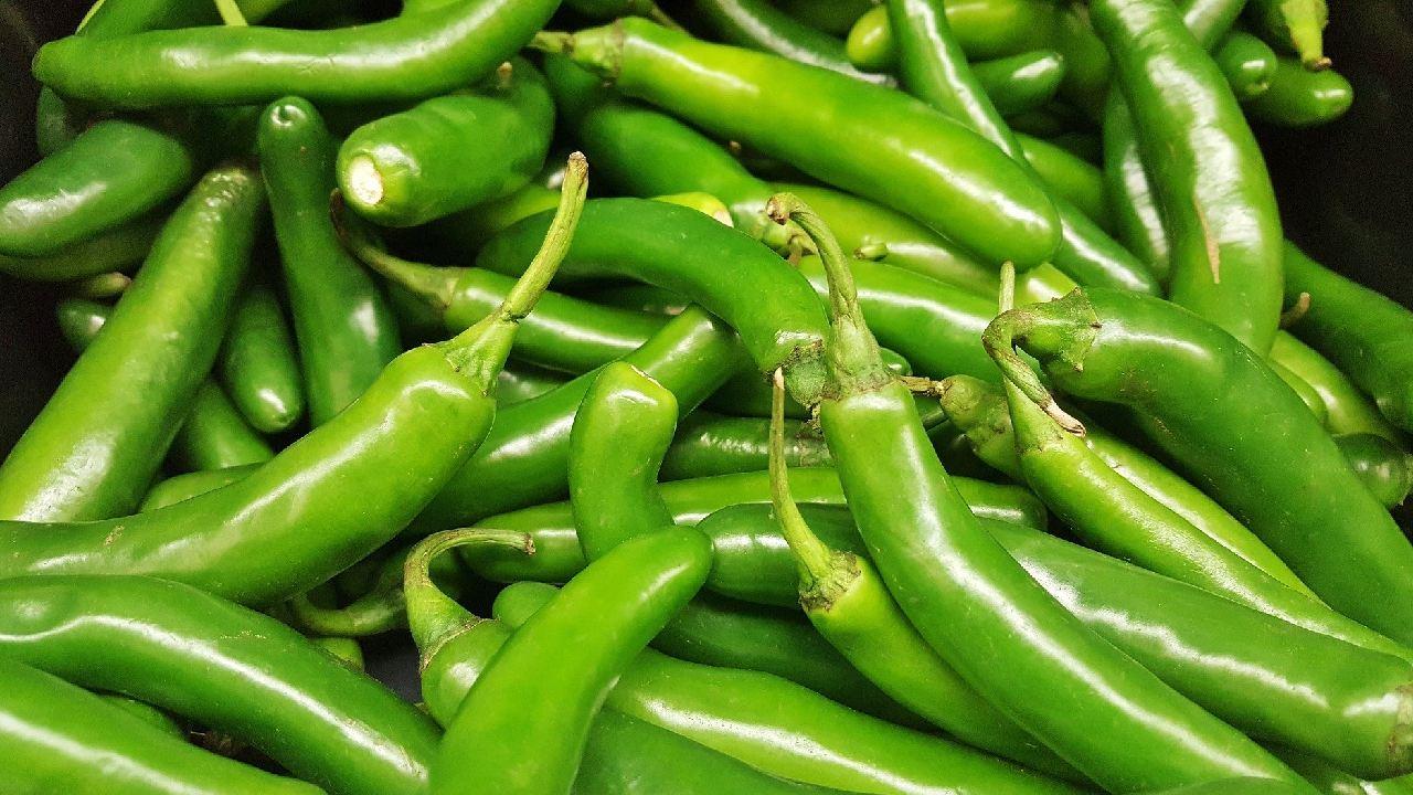 Chile serrano es el alimento de temporada que además es barato en abril