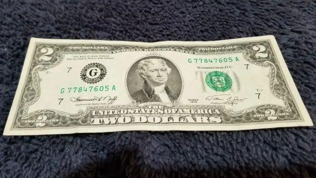 Este es el billete de 2 dólares que da suerte y hace ganar miles de pesos