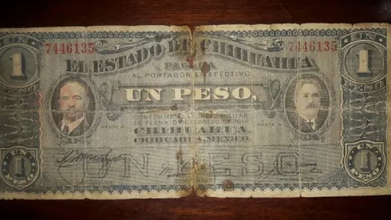 Si tienes este billete de un peso lo puedes vender en casi 9 mil pesos