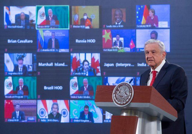 ¿De qué habló el presidente AMLO en la cumbre climática de Joe Biden?