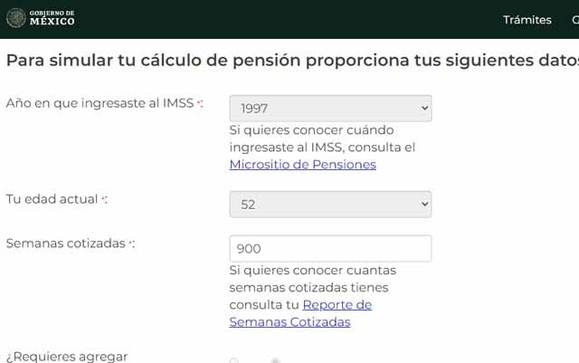 Simula tu pensión del IMSS