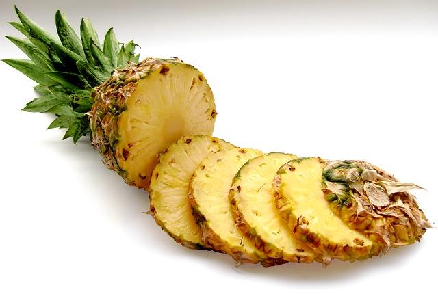 La piña es una de las frutas de temporada
