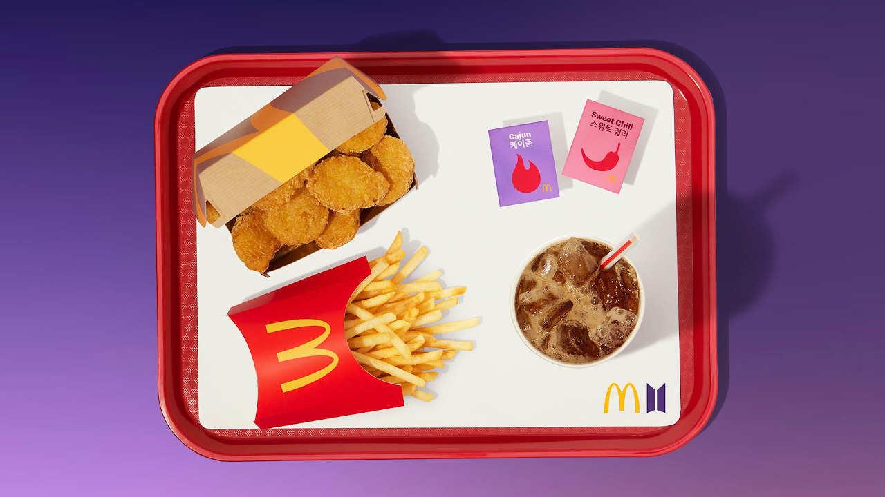 Lanzan BTS Meal de McDonald's en México; te decimos cuánto cuesta