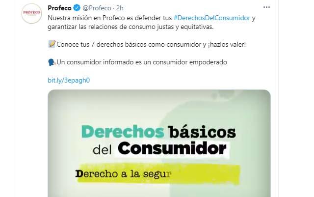 Derechos al consumidor