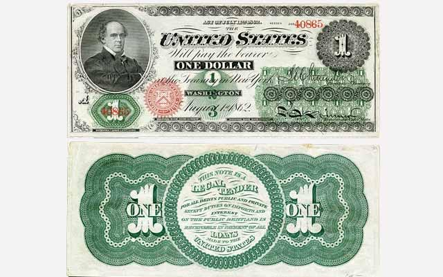 Billete de un dolar