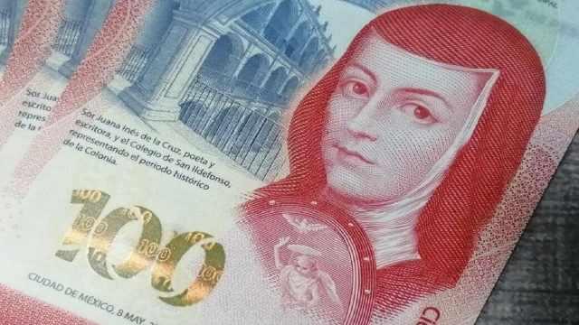 Este billete de 100 pesos con la imagen de Sor Juana se vende en internet en casi 5 mil pesos