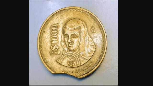 cuanto me dan por una moneda de mil pesos de Sor Juana