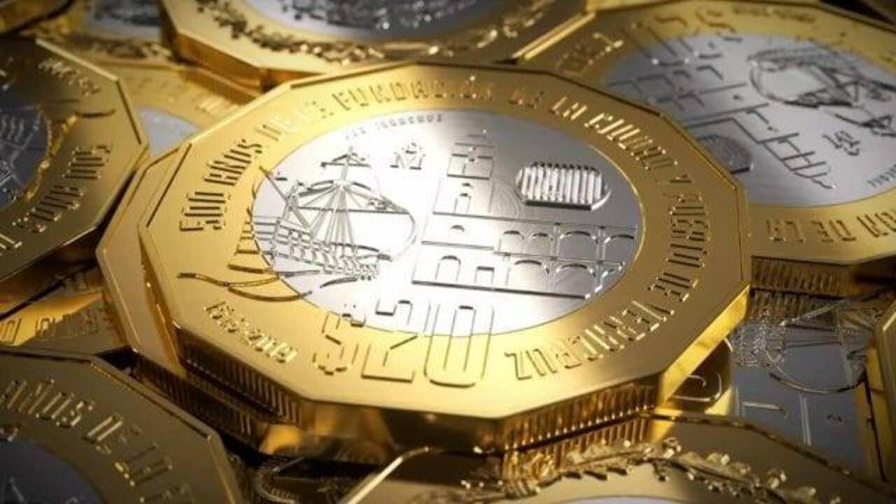 monedas de 20 pesos conmemorativas