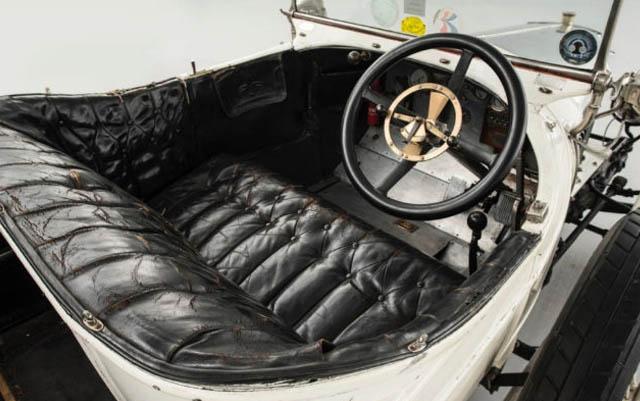 Auto deportivo antiguo