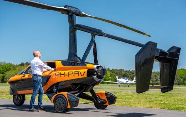 Se han creado autos voladores