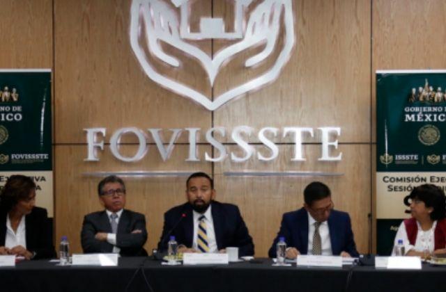 FOVISSSTE es para trabajadores del estado