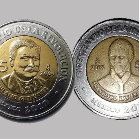 Moneda de 5 pesos valiosa