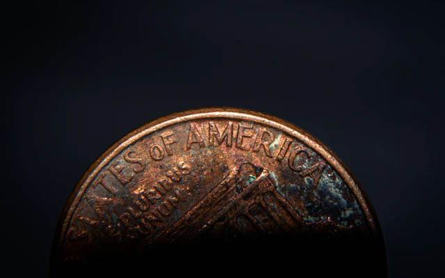 Moned de un centavo es de suerte