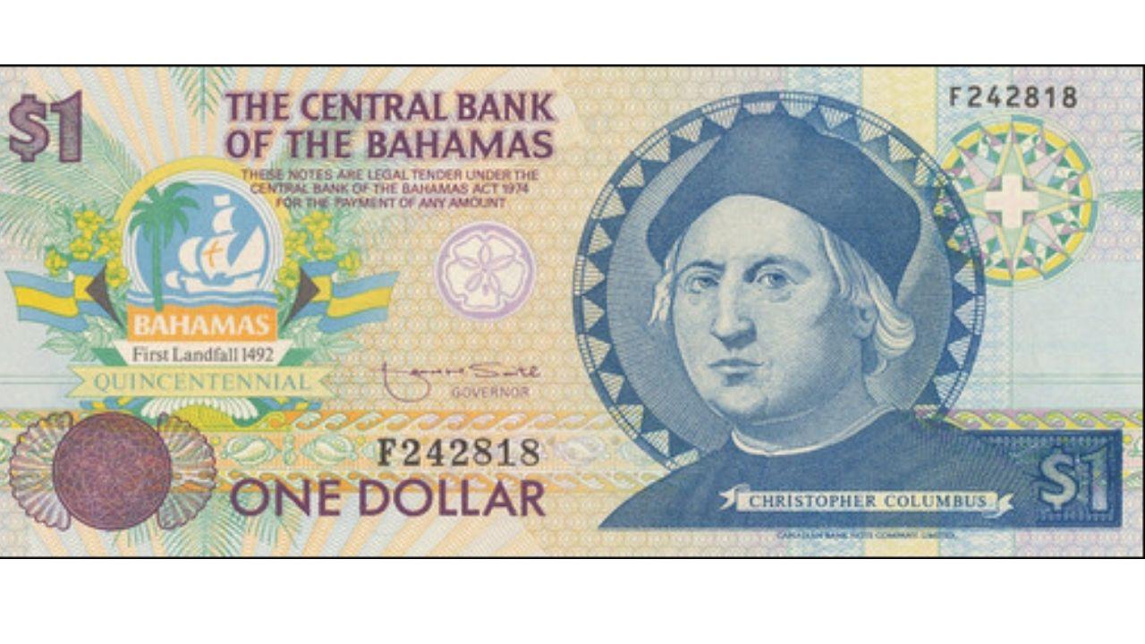 Tipo de cambio de dólar de Bahamas