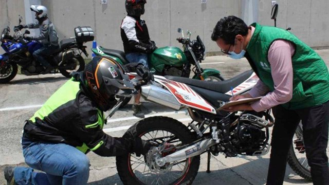 Certificado para motociclistas