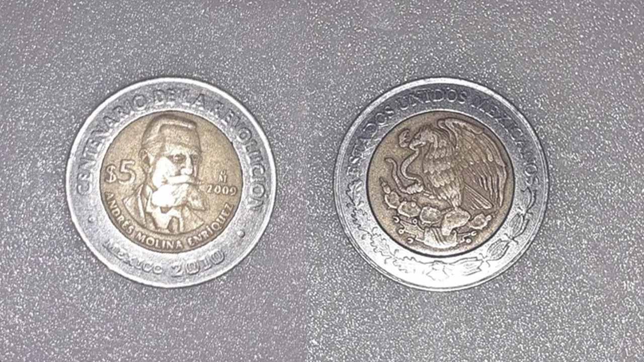 Moneda de 5 pesos