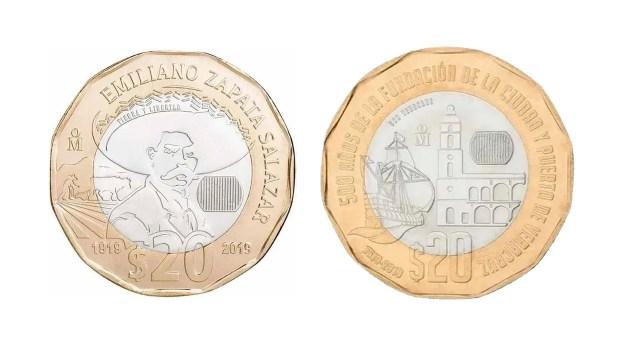 Monedas de 20 pesos venta