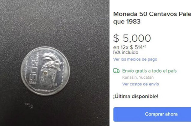 moneda 50 centavos