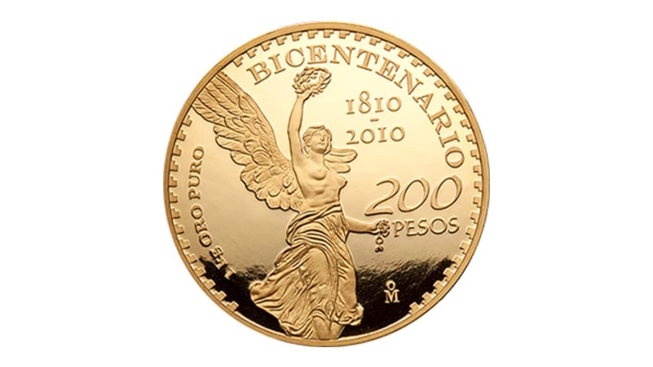 ¿Cuánto valen el Centenario y Bicentenario de oro?