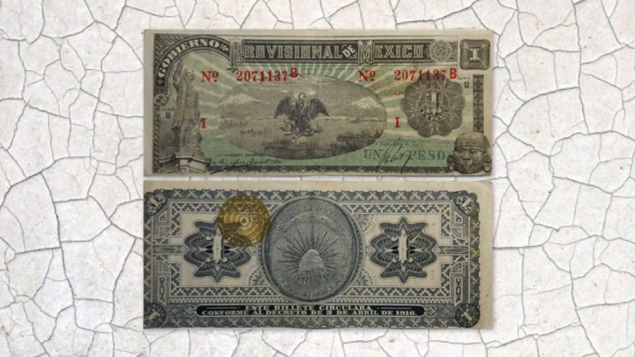vender billete mexicano